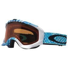 Oakley 57-407 Twisted Spirograph Blue White w/ Persimmon Lens Snow Ski Goggles