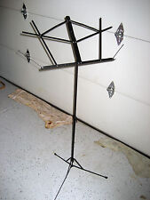 NEW (old stock)  Proline GMS20 Music Stand, Black, folds small for easy carry