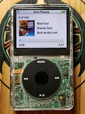 Apple iPod classic 5.5 Generation 80GB - SKELETON CLEAR FRONT !