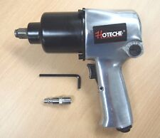 "1/2"" Twin Hammer Heavy Duty Air Impact Wrench Max Torque 750ft/lb"