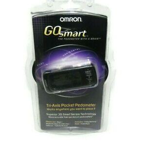 Omron HJ-303 Tri Axis Go Smart Pocket Digital Pedometer