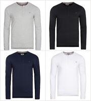 Tommy Hilfiger Long Sleeve Basic Top T-Shirts Men CREW NECK / RRP £40