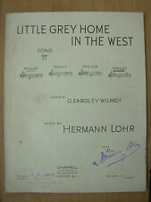 VINTAGE SHEET MUSIC - LITTLE GREY HOME IN THE WEST - PIANO & VOICE