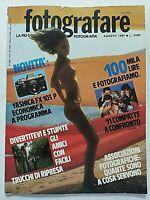 FOTOGRAFARE AGOSTO 8-1985 YASHICA FX103P - TERRASINI - CAMERA OSCURA RIVISTA