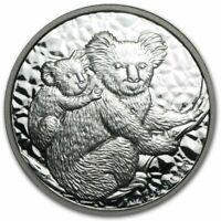 2008 Australia Koala   BU Silver Dollar  - 1 oz silver  .999  coin in  capsule