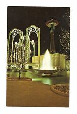 *1962 Seattle World's Fair Federal Science Pavilion and Space Needle