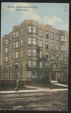Postcard AKRON Ohio/OH  Amelia Apartment Building view 1907