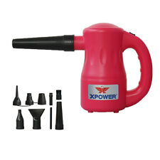 XPOWER B53 Airrow Pro 115V Multi Use Dog Hair Dryer Blower Duster Air Pump- Pink