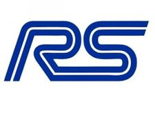 NEW Ford RS Sticker Garage RS Turbo Toolbox Focus Escort Fiesta Decal 100mm