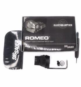 Sig Sauer SOR11000 Romeo1, 1x30mm Miniature Reflex,Black
