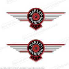 Laminated Gas Fuel Tank Dash Decal For Harley Touring 87-07 PINSTRIPE SKULL GR