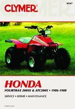 HONDA FOURTRAX 200 SX & ATC200X 1986-1988