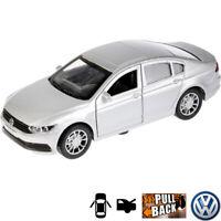 1:36 Scale Diecast Metal Model Car Volkswagen VW Passat Silver Die-cast Toy