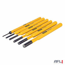Stanley 4-18-226 Pin Punch 6 Piece Set - Marking Centre Lines, Hole Locations