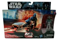 Star Wars Imperial Speeder with AT-DP Pilot 3.75 Inch Action Figure IN STOCK