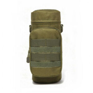 Kettle Bag Tactical Molle Water Bottle Carrier Holder Pouch  Outdoor Adjustable.