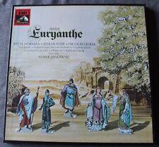 Weber - Euryanthe - Marek Janowski, coffret 4 LP - 33 tours