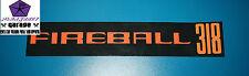 Chrysler Valiant FIREBALL 318 Air Cleaner Decal VF VG Regal 770