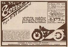 Y8011 Moto TERROT 350 c.c. Tipo HST Standard - Pubblicità d'epoca - 1930 Old ad