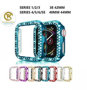 Apple Watch Series 6 SE 5  Diamond Bling protector Case Cover 38/40/42/44mm