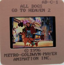ALL DOGS GO TO HEAVEN 2 CAST Charlie Sheen Bebe Neuwirth  ORIGINAL SLIDE 1