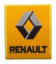 "RENAULT Cars Auto Turbo F1 Sport Racing 3.5""x3"" Iron Embroidery Applique Patch."