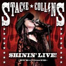 STACIE COLLINS - SHININ' LIVE (CD+DVD)   ROCK & POP  NEUF