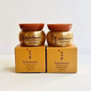 2 x 雪花秀 SULWHASOO Concentrated Ginseng Renewing Cream Travel Size Mini 5 ml