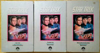 STAR TREK Collector's Edition VHS Tapes Lot of 3