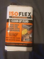 ISOFLEX   PROFESSIONAL   CLEAN UP FLUID     CLEANS  AWAY DRIPS AND SPLASHS    CL