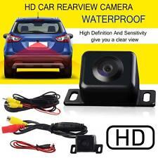 Hd voiture vue arrière parking caméra arrière imperméable large vision de nuit led capteur