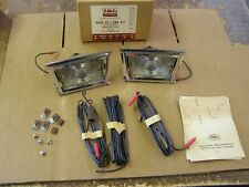 NOS OEM Ford 1958 Fairlane 500 Backup Light Kit Trapezoid Shape Back Up Lamp
