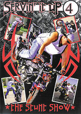 Servin' It Up 4 ~ The Stunt Show ~ Motorcycle Stunts ~ DVD ~ FREE Shipping USA