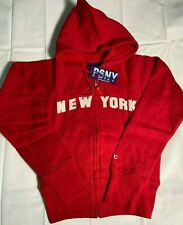 New York full-zip hoodie Girl's with pockets All Sizes & Colors