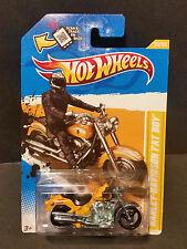 2012 Hot Wheels #030 - 2012 New Models 30/50 - Harley Davidson Fatboy