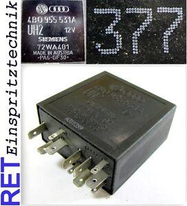 Relais Nr 377 Siemens Wischer / Intervall 4B0955531A Audi VW original
