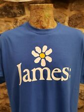 More details for james t shirt tim booth the band 1990 style tee retro 90s madchester come home