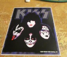 KISS STICKER COLLECTiBLE RARE VINTAGE 2000 METAL LIVE WINDOW DECAL