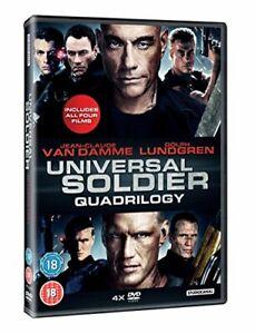 Universal Soldier Quadrilogy [DVD] [1992][Region 2]