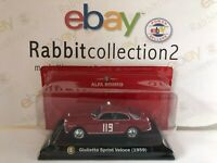 "DIE CAST "" GIULIETTA SPRINT VELOCE (1959) "" ALFA COLLECTION SCALA 1/43"