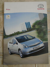 Toyota Prius range brochure Jan 2006 Irish market