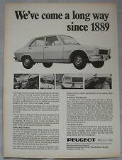 1970 Peugeot 504 Original advert No.1