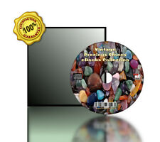 Vintages Gems, Precious Stones eBooks Collection Books On CD