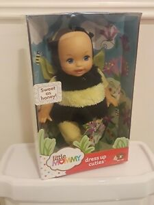 "RARE LITTLE MOMMY SWEET AS HONEY! BUMBLE BEE BABY DRESS UP CUTIES 14"" DOLL NIB"