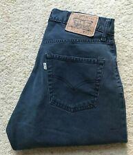 Hombre Vintage Levis 517 pierna recta Jeans Denim Azul Marino W 31 L 31
