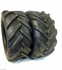 Two 16x6.50-8 4ply 16x6.50x8 Deestone Tractor Lug Ag Tire 16x650-8 16 650 8
