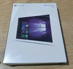 Microsoft Windows 10 Pro Professional 32/64Bit Operating System Retail Box Usb