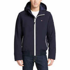 Tommy Hilfiger Mens Softshell Jacket Bomber With Hood...