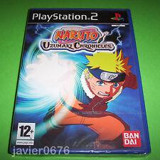 Naruto Uzumaki Chronicles PAL España completo Sony PS2 PlayStation 2