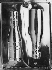 Medium 3D Champagne Bottle Chocolate Candy Mold Soap molds bottles wine